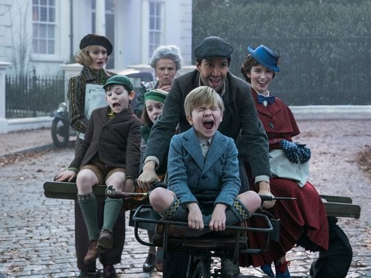 New Image from Mary Poppins Returns