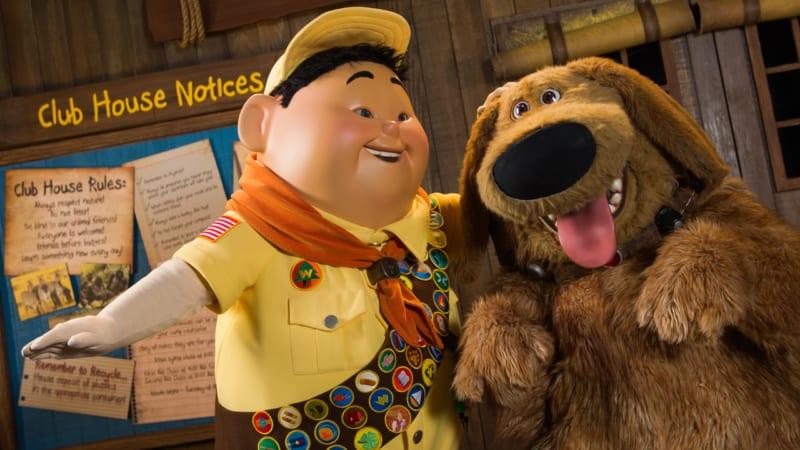 New Pixar UP Show Replacing Flights of Wonder in Disney's Animal Kingdom
