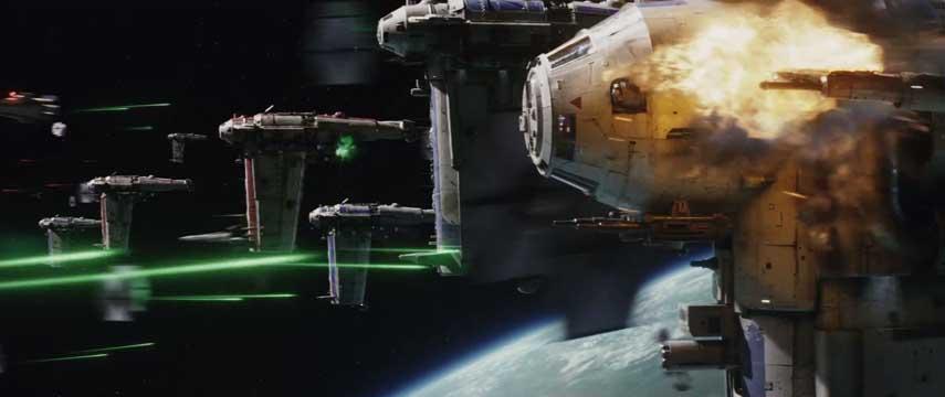 Resultado de imagem para star wars the last jedi space