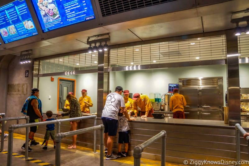 Satu'li Canteen Review Pandora pick-up counter