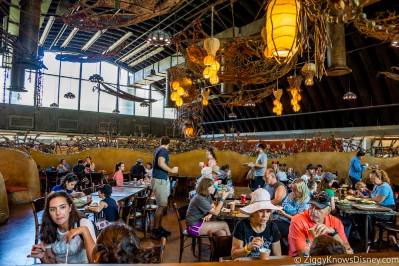 Satu'li Canteen Review Pandora dining area