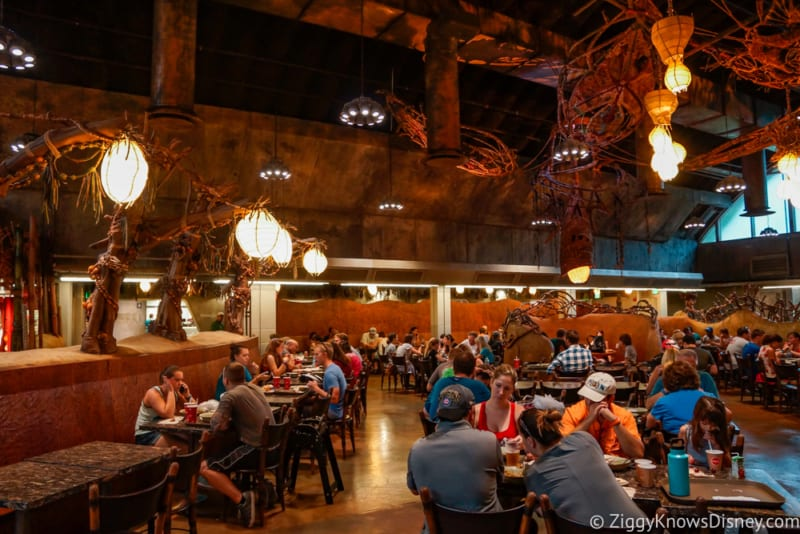 Satu'li Canteen Review Pandora dining room