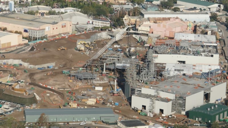 Galaxy's Edge construction update December 2017