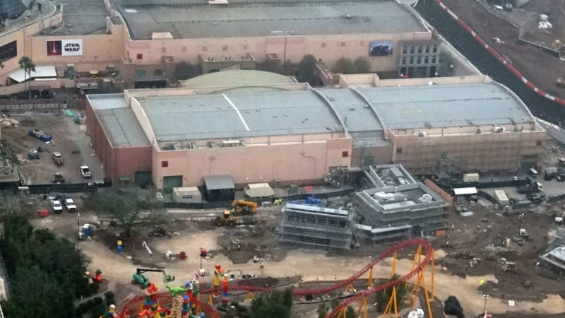 Toy Story Land Construction Update December midway mania