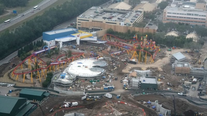 Toy Story Land Construction Update December