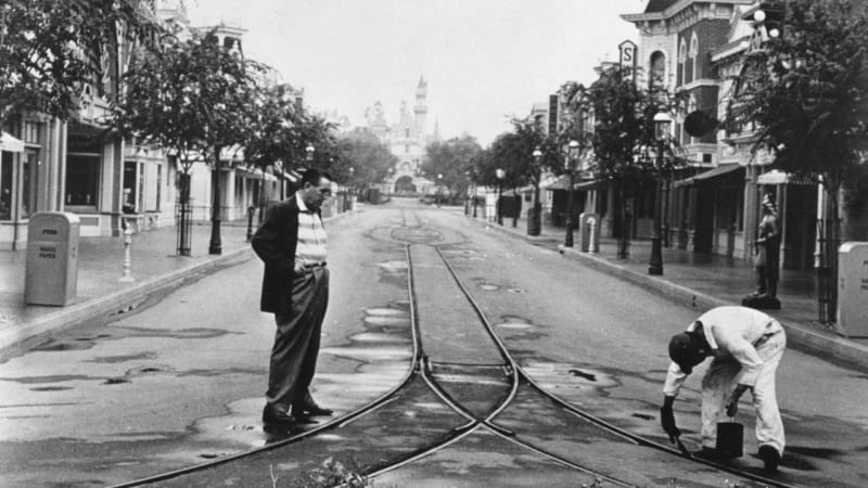 Disneyland Main Street USA and Dumbo the Flying Elephant Refurbishments