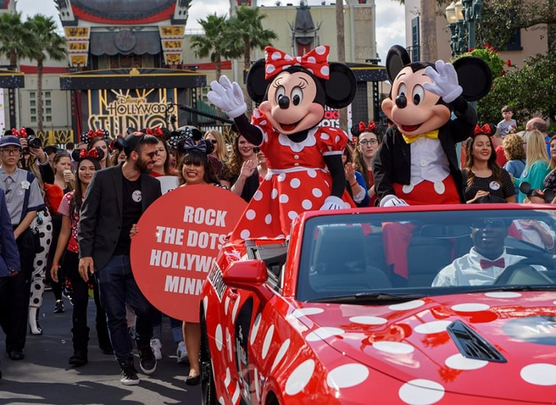Minnie Mouse Hollywood Walk of Fame Hollywood Studios