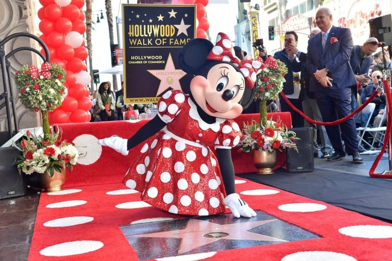 Minnie Mouse Finally Gets Star on Hollywood Walk of Fame