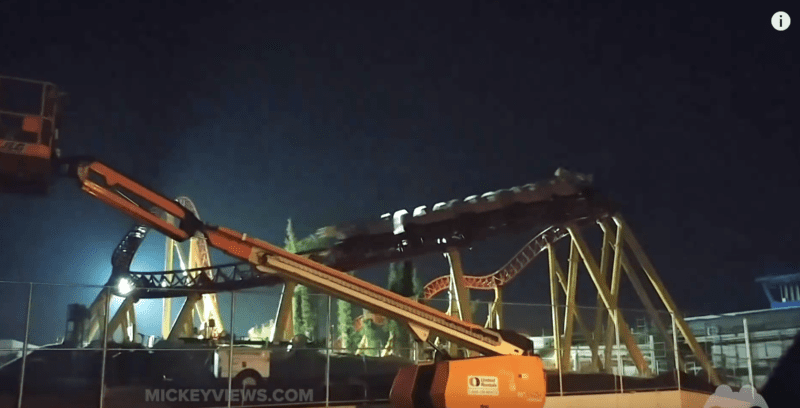 Leaked Footage of Slinky Dog Dash Coaster Being Tested