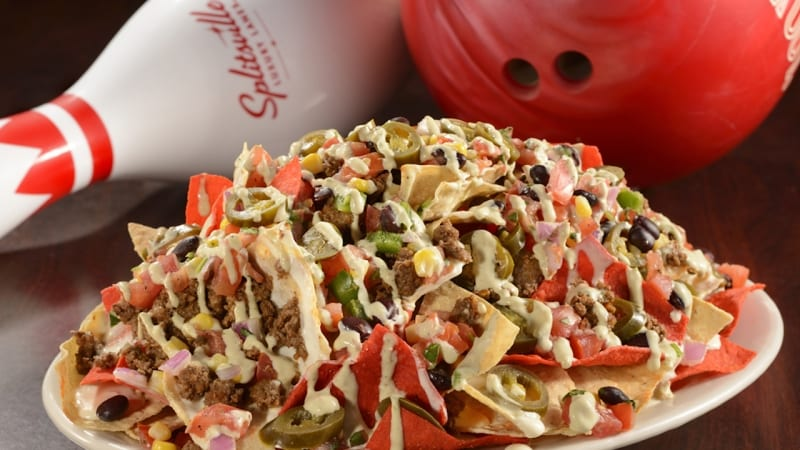 Splitsville Disneyland Menu Preview nachos