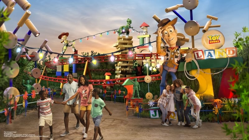 New Toy Story Land Concept Art