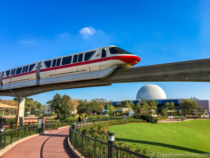 Close the Walt Disney World Monorail