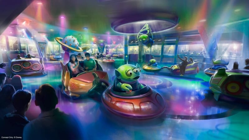 Alien Swirling Saucers First Look concept art
