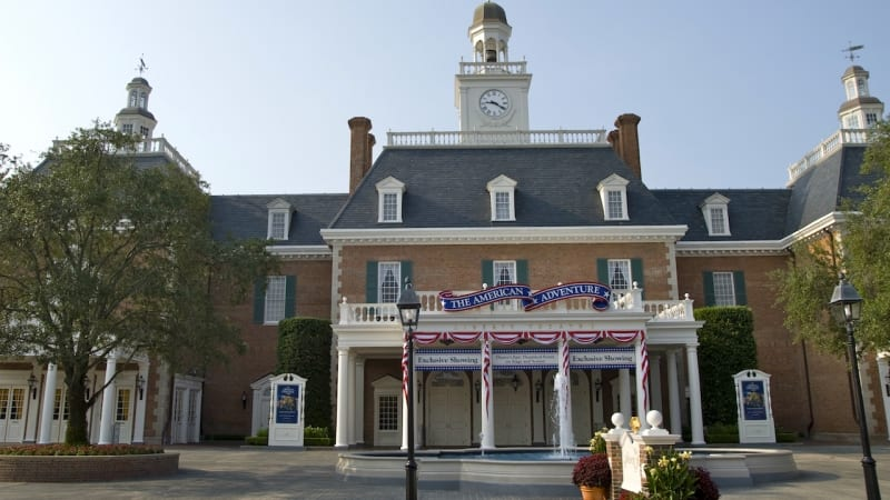 American Adventure Getting Upgrades