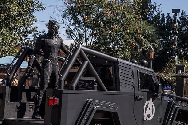 Black Panther Disney California Adventure