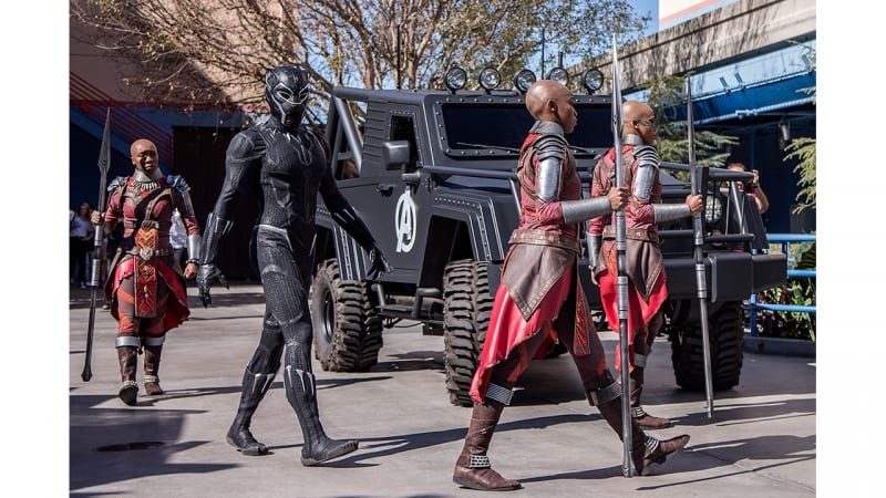 Black Panther Disney California Adventure characters