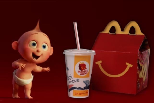 Disney Toys Coming to McDonald's Happy Meals Soon