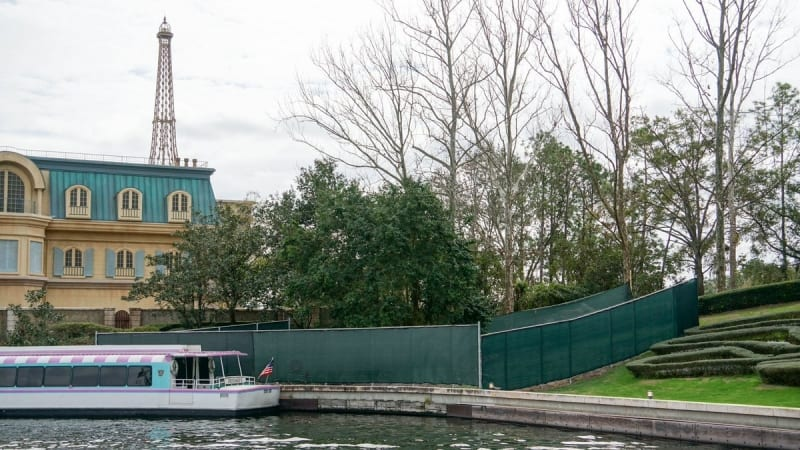 Disney Skyliner Construction Progress February 2018 Epcot France