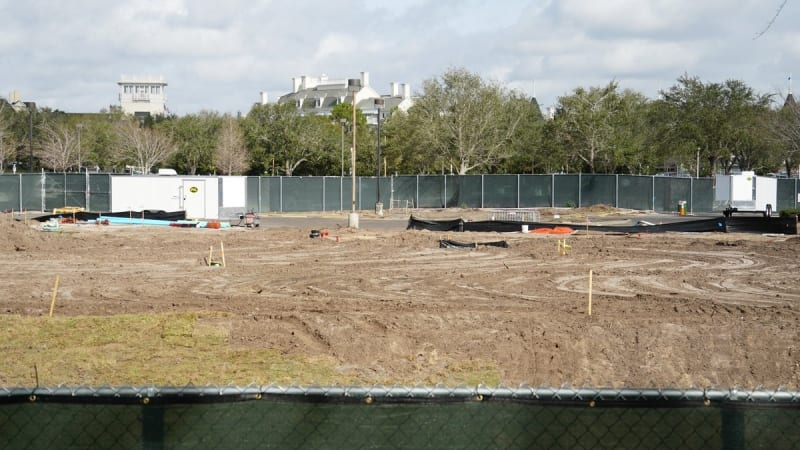 Disney Skyliner Construction Progress February 2018 mid point