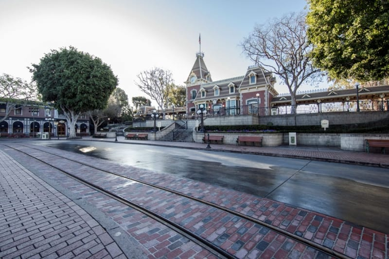 New Disneyland Brickwork