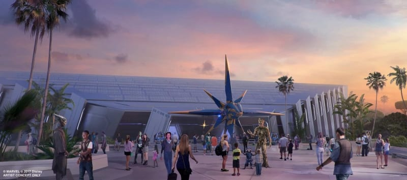 Guardians of the Galaxy Coaster Will Be One of The Longest in the World