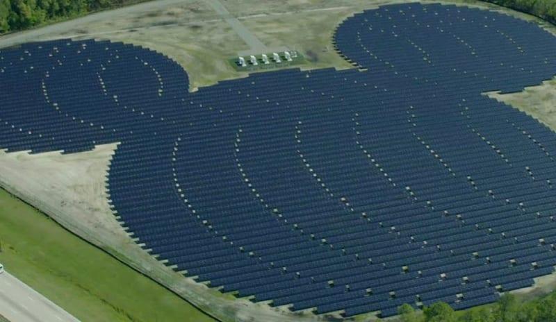 New Solar Farm Walt Disney World
