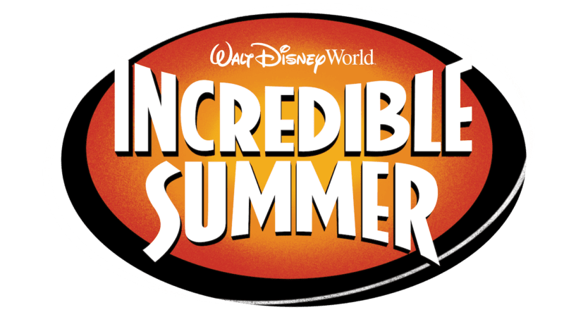 Walt Disney World Incredible Summer