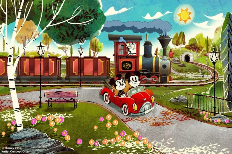 Mickey and Minnie's Runaway Railway Opening in 2019