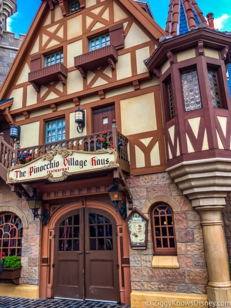 RUMOR: Dinner Buffet Coming to Pinocchio Village Haus in Disney's Magic Kingdom