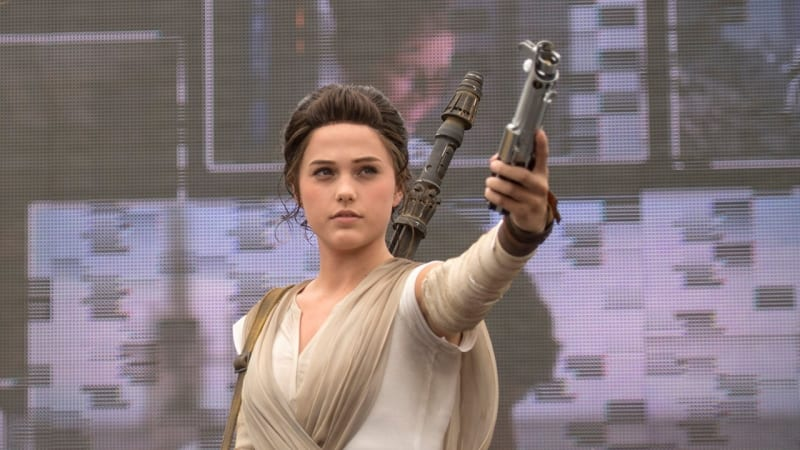 Rey Coming to Star Wars Launch Bay in Disneyland This May