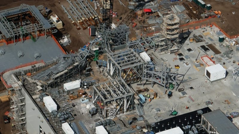 Galaxy's Edge construction update battle escape roof