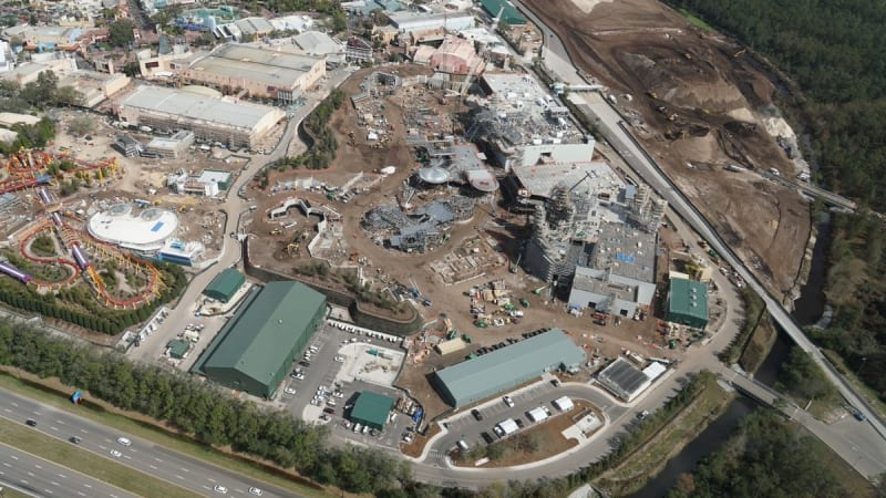 Galaxy's Edge construction update February 2018 overview