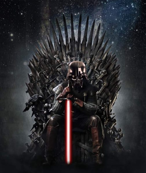 Game of Thrones Star Wars Vader