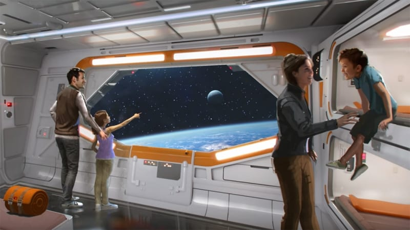Star Wars Hotel Animations bedrooms