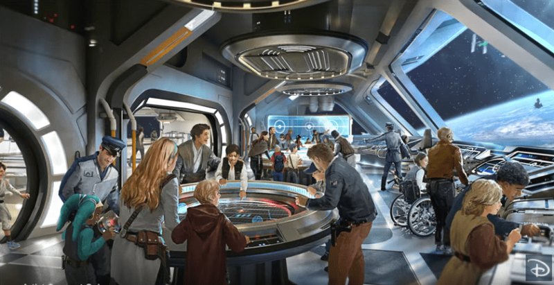 Star Wars Hotel New Details from D23 Expo Japan