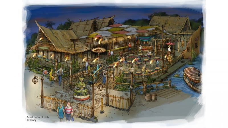 Tropical Hideaway Coming to Adventureland in Disneyland