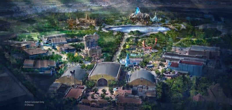 Disneyland Paris expansion Walt Disney Studios Park