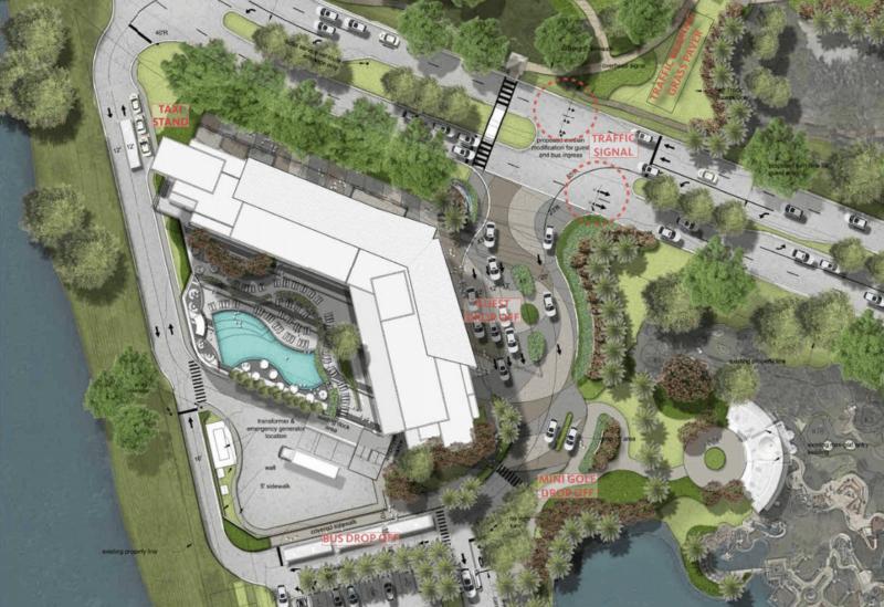 Walt Disney World 350 Room Hotel Details location