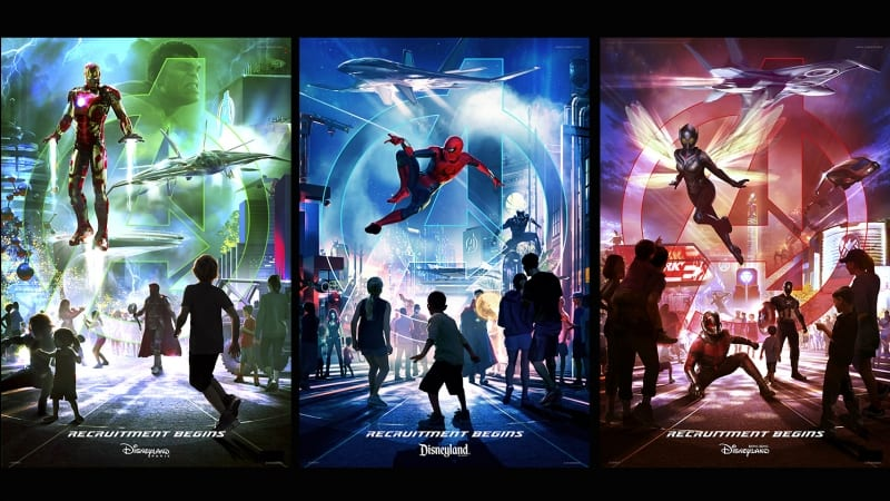 Marvel Land Coming to 3 Disney Parks: Disney California Adventure, Disneyland Paris and Hong Kong