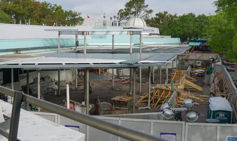 Cosmic Ray's Starlight Cafe Expansion
