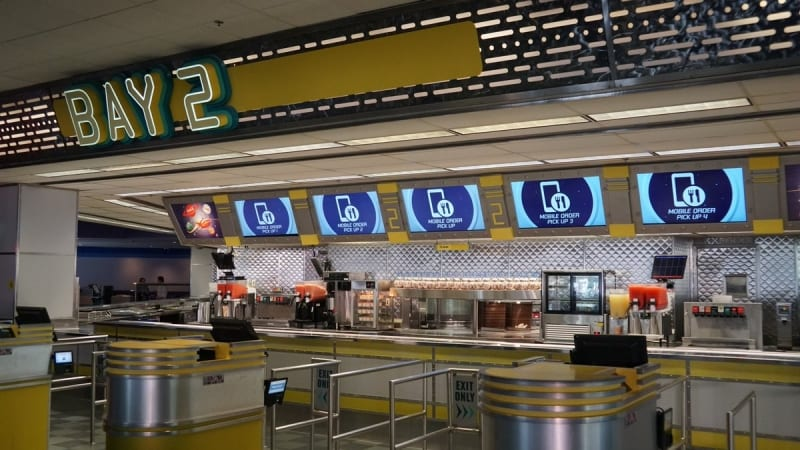 Cosmic Ray's Starlight Cafe Expansion mobie order system