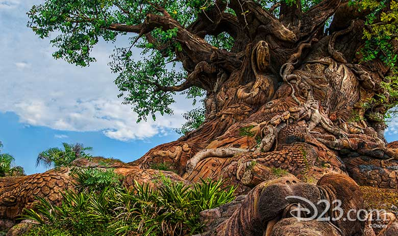 D23 Animal Kingdom 20th anniversary tree of life
