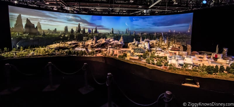 D23 Expo 2019 Dates Star Wars Galaxy's Edge model