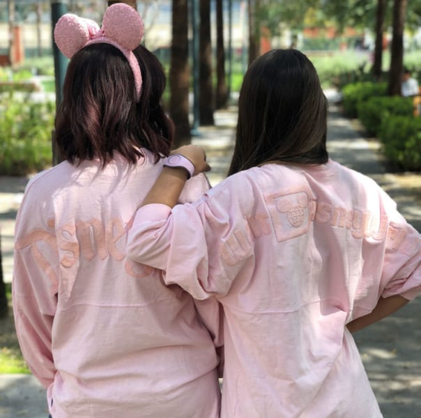 Millennial Pink Minnie Mouse Ears Spirit Jerseys