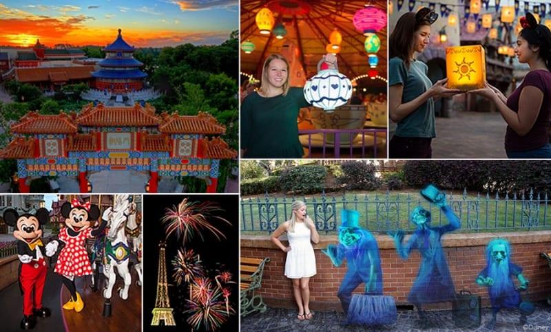 Disney PhotoPass Instagram shots