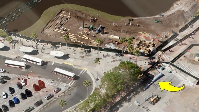 Disney Skyliner Construction Update March 2018 Hollywood Studios aerial