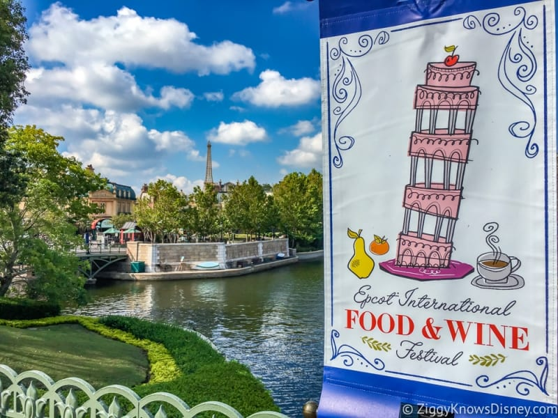 2018 Epcot Food and Wine Festival Dates Announced