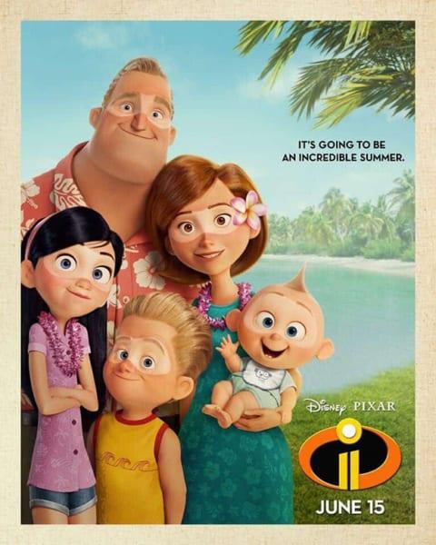 New Disney-Pixar Incredibles 2 Poster is Released