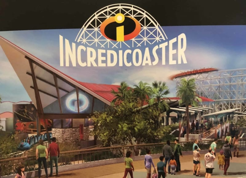 Disney California Adventure Incredicoaster Logo Revealed