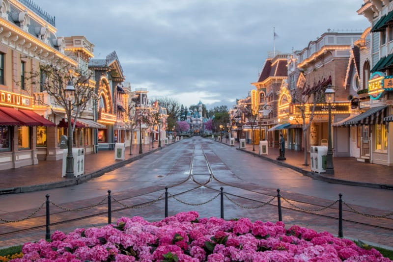 Disneyland Main Street USA Refurbishment